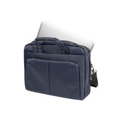 Torba NATEC Gazelle 13-14 Granatowy. Niebieskie torby na laptopa Natec, w paski, z nylonu. Za 69,90 zł.