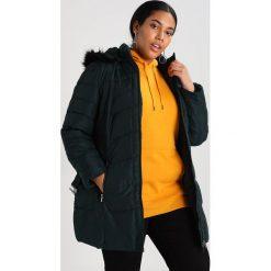 Płaszcze damskie pastelowe: Evans ZIP THROUGH PADDED COAT Płaszcz zimowy dark green