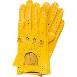 Rękawiczki damskie 46-6-275-Y. Żółte rękawiczki damskie Wittchen. Za 99,00 zł.