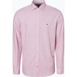 Tommy Hilfiger - Koszula męska, czerwony. Czerwone koszule męskie na spinki marki Cropp, l. Za 399,95 zł.