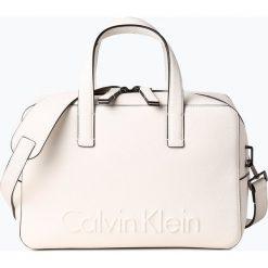 Calvin Klein - Torebka damska, czarny. Czarne torebki klasyczne damskie Calvin Klein, z nadrukiem, z nadrukiem. Za 449,95 zł.