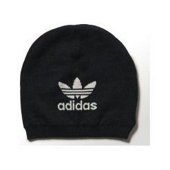 Czapka adidas Trefoil Beanie (M30740). Białe czapki zimowe męskie Adidas, z bawełny. Za 79,99 zł.