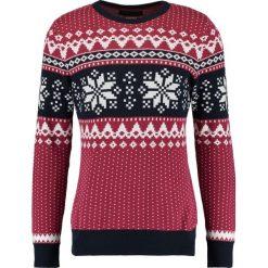 Swetry męskie: Jack & Jones JPRSNOW CREW NECK Sweter ruby wine
