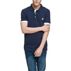Koszulka polo w kolorze granatowym. Niebieskie koszulki polo marki Camel Active, Varsity, l. W wyprzedaży za 72,95 zł.