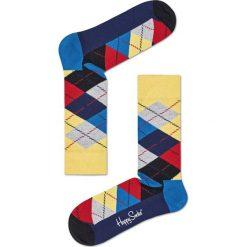Happy Socks - Skarpety. Szare skarpetki męskie Happy Socks, z bawełny. W wyprzedaży za 27,90 zł.