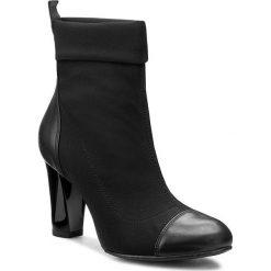 Botki KARINO - 1575/090-P Czarny. Fioletowe buty zimowe damskie marki Karino, ze skóry. W wyprzedaży za 209,00 zł.