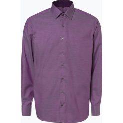 Eterna Modern Fit - Koszula męska – niewymagająca prasowania, różowy. Czerwone koszule męskie na spinki marki Eterna Modern Fit, m, w kratkę. Za 199,95 zł.