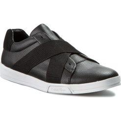 Półbuty CALVIN KLEIN - Baku Tumbled Leather F0798 Blk Black. Czarne półbuty skórzane męskie marki Calvin Klein. W wyprzedaży za 329,00 zł.