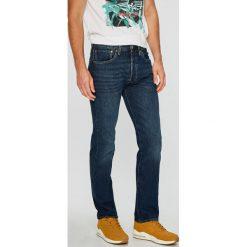 Levi's - Jeansy 501. Brązowe jeansy męskie z dziurami marki Levi's®. Za 369,90 zł.