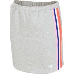 Spódniczki dziewczęce: Spódniczka dresowa dla dużych dziewcząt JSPUD203 – szary melanż