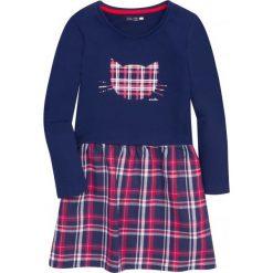 Sukienki dziewczęce: Sukienka z dołem w kratkę dla dziewczynki 9-13 lat