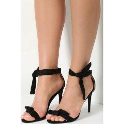 Czarne Sandały Turquoise. Czarne sandały damskie vices, na wysokim obcasie. Za 39,99 zł.