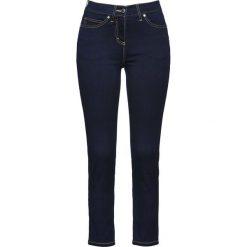 """Dżinsy 7/8 """"Mega-stretch"""" bonprix ciemnoniebieski """"stone"""". Niebieskie jeansy damskie bonprix. Za 89,99 zł."""