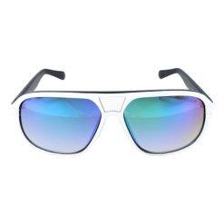 """Okulary przeciwsłoneczne męskie: Okulary przeciwsłoneczne """"GU6836"""" w kolorze biało-czarnym"""