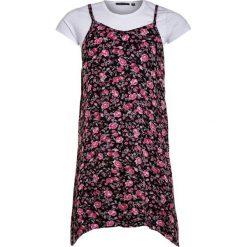 Sukienki dziewczęce letnie: Blue Seven 2IN1 Sukienka letnia magenta