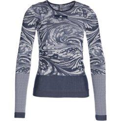 Adidas by Stella McCartney YO LONGSLEEV Koszulka sportowa conavy/white. Niebieskie topy sportowe damskie adidas by Stella McCartney, m, z elastanu. W wyprzedaży za 359,10 zł.