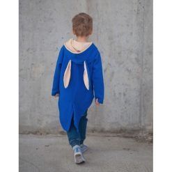 Bluzy chłopięce rozpinane: Frak - bluza z uszami