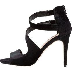 Sandały damskie: Miss Selfridge CLARA Sandały na obcasie black