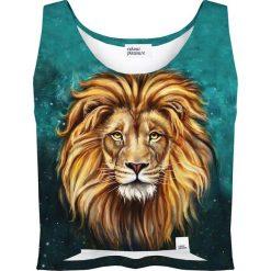 Colour Pleasure Koszulka damska CP-035 196 zielono-pomarańczowa r. XXXL-XXXXL. Brązowe bluzki damskie Colour pleasure. Za 64,14 zł.
