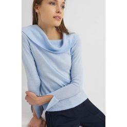 Golfy damskie: Sweter z kaszmirem