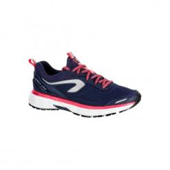 Buty do biegania KIPRUN LONG hydrofobowe damskie. Fioletowe buty do biegania damskie marki KALENJI, z gumy. Za 269,99 zł.