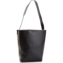 Torebka JENNY FAIRY - RC15248 Black. Czarne torebki klasyczne damskie marki Jenny Fairy, ze skóry ekologicznej. W wyprzedaży za 79,99 zł.
