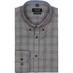 Koszula croft 1961 długi rękaw slim fit bordo. Czarne koszule męskie na spinki marki TOM TAILOR DENIM, l, z bawełny, button down, z długim rękawem. Za 29,99 zł.