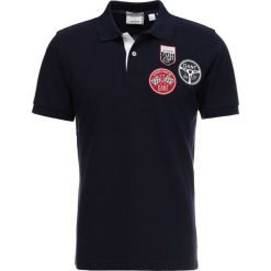 GANT TRIPLE BADGE RUGGER Koszulka polo evening blue. Niebieskie koszulki polo marki GANT. Za 549,00 zł.
