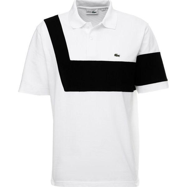 jakość wysoka jakość nowy koncept Lacoste Koszulka polo blanc/noir