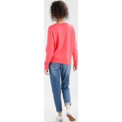Bluzy rozpinane damskie: Scotch & Soda CREW NECK WITH RICH EMBROIDERIES Bluza raspberry