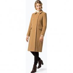 LAUREN RALPH LAUREN - Płaszcz damski z dodatkiem kaszmiru, beżowy. Brązowe płaszcze damskie Lauren Ralph Lauren, l, z kaszmiru, eleganckie. Za 999,95 zł.