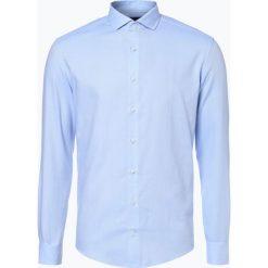 Drykorn - Koszula męska – Elias, niebieski. Niebieskie koszule męskie marki DRYKORN, m, z dekoltem karo. Za 379,95 zł.