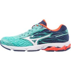 Buty sportowe damskie: Mizuno WAVE CATALYST 2 Obuwie do biegania Stabilność turquoise/white/fiery coral