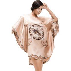 Koszule nocne i halki: Koszula nocna w kolorze beżowym