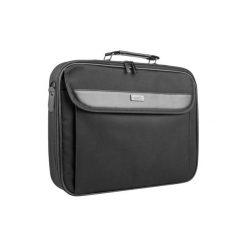 Torba na notebooka NATEC Antelope 17.3 cala. Czarne torby na laptopa marki Natec, w paski, z materiału. Za 34,99 zł.