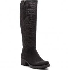 Kozaki SERGIO BARDI - Casagiove FW127363618RB 801. Czarne buty zimowe damskie Sergio Bardi, ze skóry. W wyprzedaży za 309,00 zł.