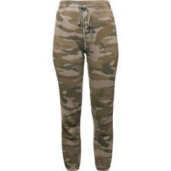 Current/Elliott Spodnie treningowe khaki. Brązowe spodnie dresowe damskie Current/Elliott, z bawełny. W wyprzedaży za 514,50 zł.