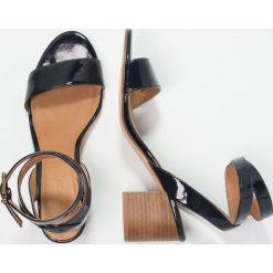 Rzymianki damskie: Bianco Sandały navy blue