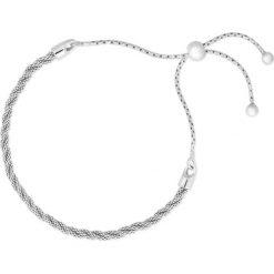 Wyjątkowa Srebrna Bransoletka - srebro 925. Szare bransoletki damskie na nogę W.KRUK, srebrne. Za 149,00 zł.