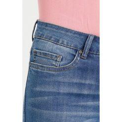 Kaffe STINE  Jeansy Slim Fit light blue denim. Niebieskie jeansy damskie Kaffe, z bawełny. Za 339,00 zł.