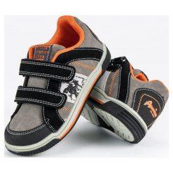 Buty dziecięce: American Club sportowe trampki american odcienie szarości i srebra