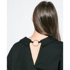 Vero Moda - Koszula. Szare koszule damskie marki Vero Moda, m, z bawełny, z długim rękawem. W wyprzedaży za 59,90 zł.