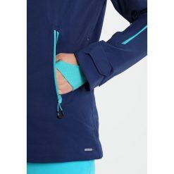 Salomon GUARD Kurtka snowboardowa medieval blue. Niebieskie kurtki damskie narciarskie Salomon, l, z materiału. W wyprzedaży za 1007,40 zł.