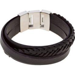Bransoletki męskie: Fossil Bransoletka black/silvercoloured
