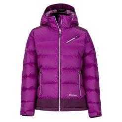 Marmot Damska Kurtka Puchowa Wm's Sling Shot Jacket Grape/Dark Purple Xs. Fioletowe kurtki damskie softshell Marmot, s, z puchu. Za 1189,00 zł.
