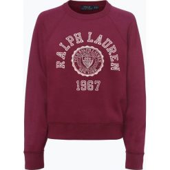 Polo Ralph Lauren - Damska bluza nierozpinana, czerwony. Czerwone bluzy z nadrukiem damskie Polo Ralph Lauren, m. Za 699,95 zł.