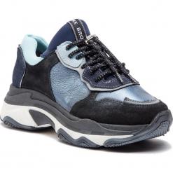 Sneakersy BRONX - 66167-HA BX 1525 Dark Blue 70. Czarne sneakersy damskie marki Bronx, z materiału. W wyprzedaży za 419,00 zł.