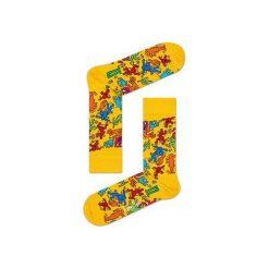 Skarpetki Happy Socks x Keith Haring KEH01-2000. Żółte skarpetki męskie Happy Socks. Za 39,90 zł.