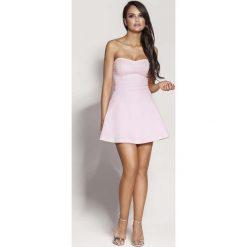 Różowa Mini Sukienka z Odkrytymi Ramionami. Niebieskie sukienki mini marki Reserved, z odkrytymi ramionami. Za 238,90 zł.