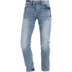 Only & Sons ONSWARP Jeans Skinny Fit light blue denim. Niebieskie jeansy męskie marki Only & Sons. W wyprzedaży za 152,10 zł.
